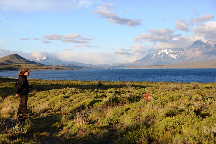 Holly in Torres del Paine - low res