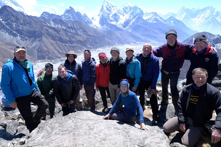 Gokyo summit with Peter Hillary blog size