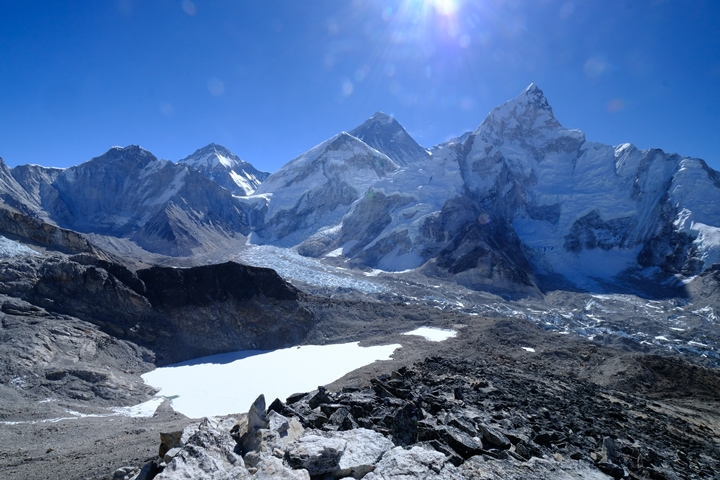 Kala Patar view of Everest blog size