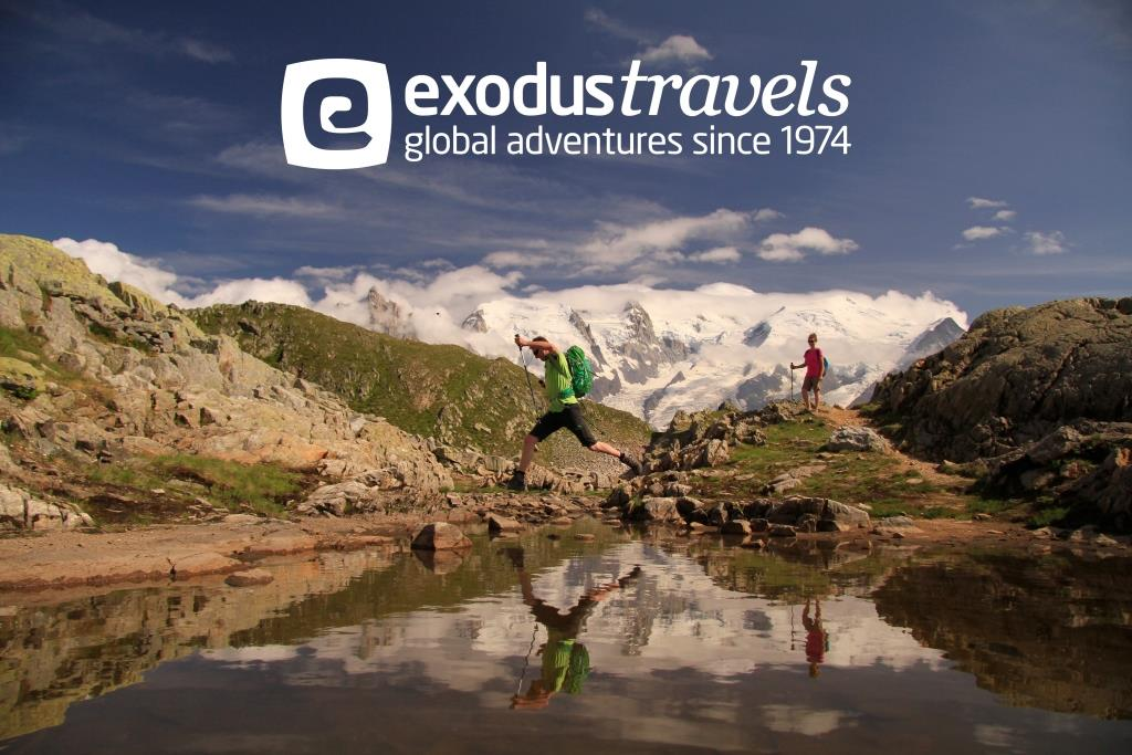 """Exodus Travels """"Walking & Cycling Holidays Around the World"""" with guest speaker Helen Clark"""