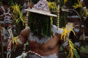 Papua New Guinea's Fire Dance Festival Performance