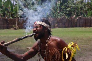 Papua New Guinea Fire Dance Experience