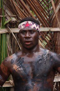 Papua New Guinea Native Man