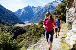 The Ultimate New Zealand Southern Alps Trek; Escorted by Mike Wood. 11 days 14 - 24 March 21 AUD$7,395 10
